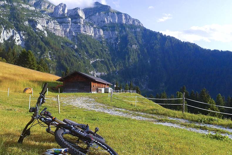 In mountain bike nel Primiero